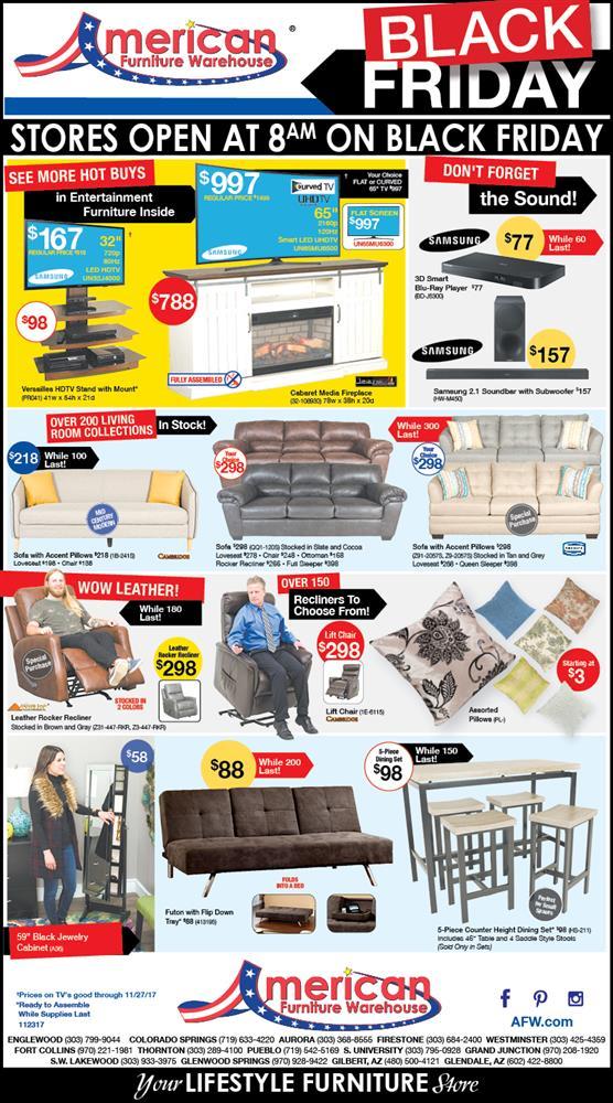 American Furniture Warehouse Black, Furniture Black Friday